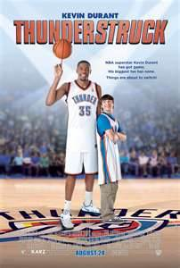 Win DVD/BLUERAY Disk Of New Movie THUNDERSTRUCK With Kevin Durant