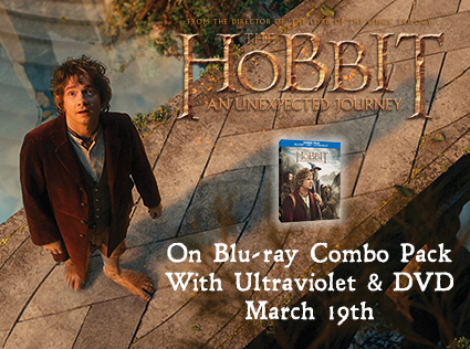 GIVEAWAY:  The Hobbit Dvd Blue Ray Pack