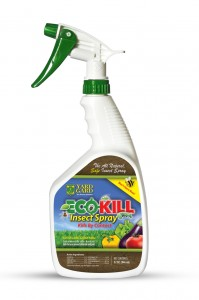 Giveaway: 2 bottles of Yard Gard Eco Kill Insect Spray.  3 Winners