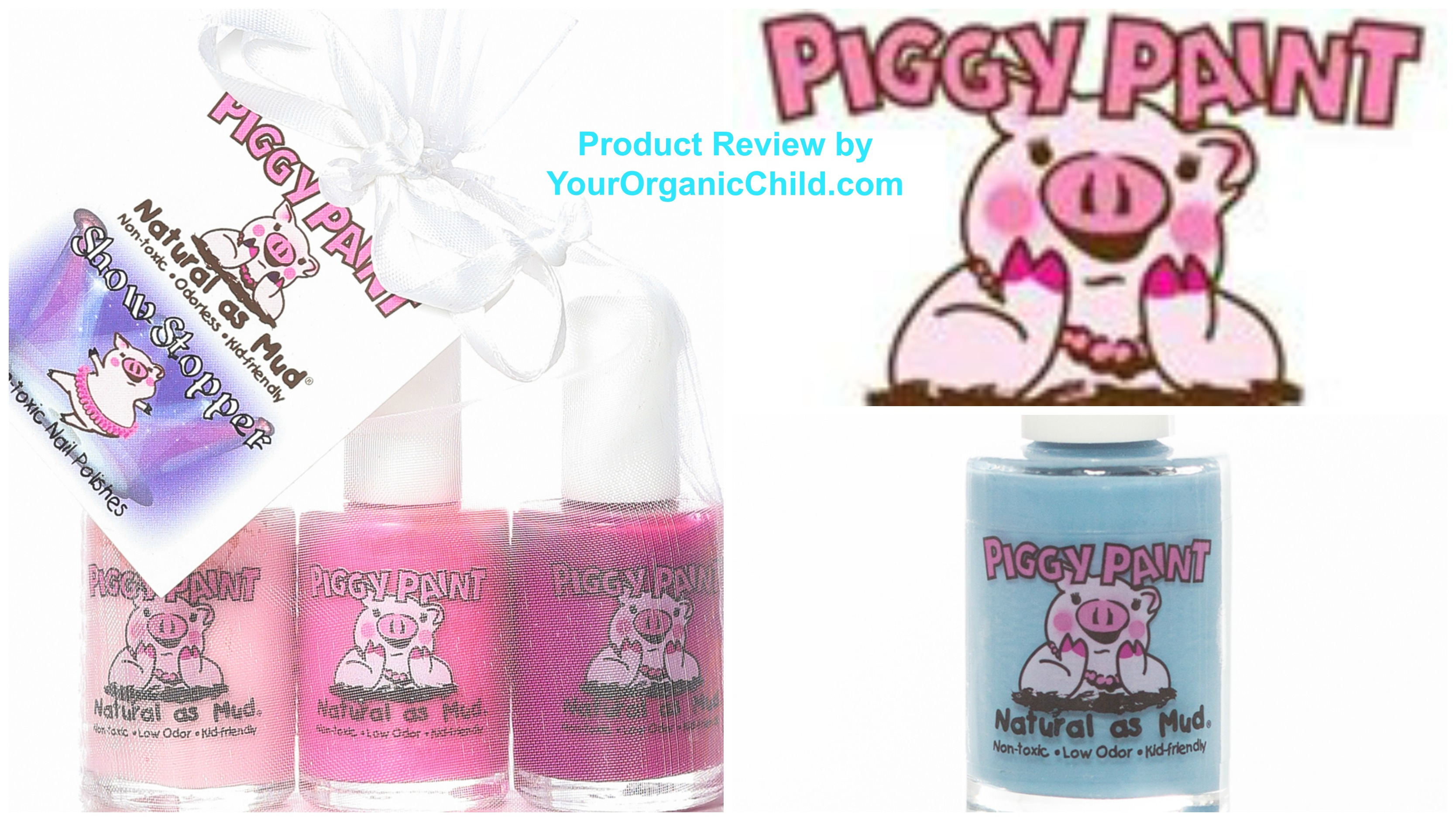 Piggy Paint Natural Nail Polish Review & Coupon