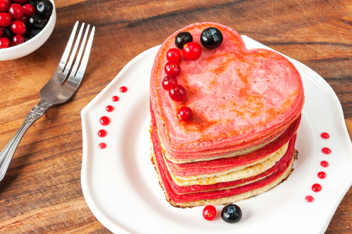 Healthy Pink Pancake Recipe