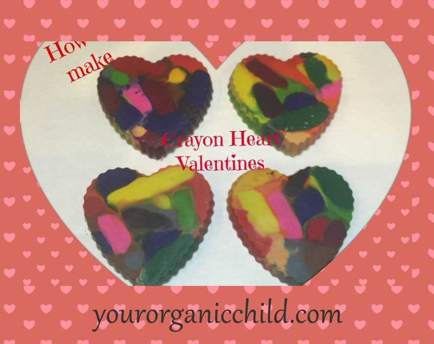 How To Make: Crayon Hearts