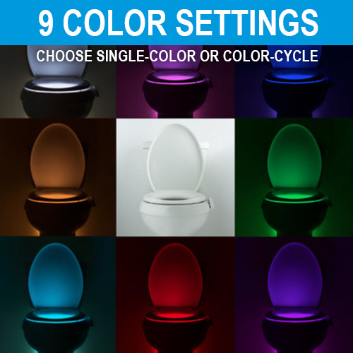 Product Review & Giveaway: Illumibowl toilet bowl nightlight