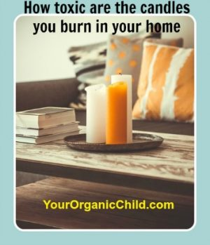 How toxic are the candles that you burn in your home