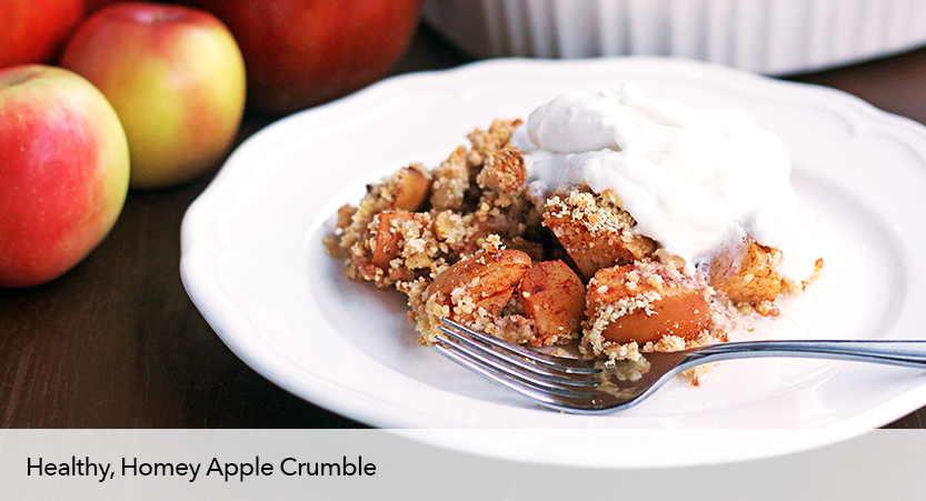 Apple Recipes : Healthy Apple Crumble Recipe