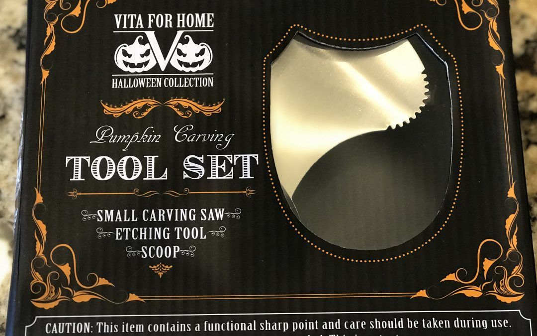 Pumpkin Carving Contest and Product Discount Sponsored by VitaForHome