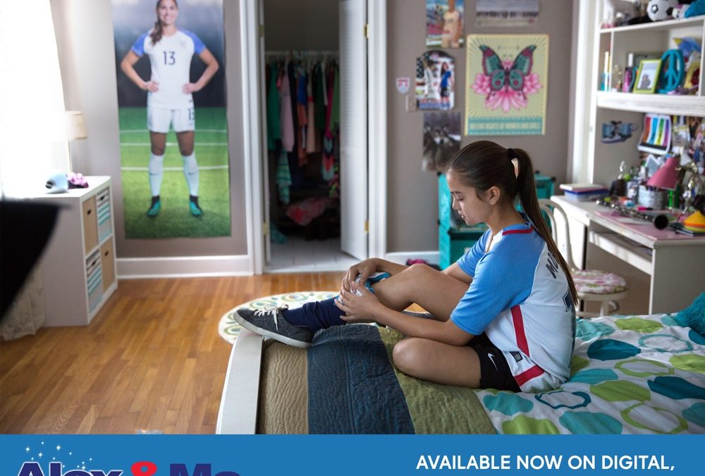 GIVEAWAY: Win a Blue Ray DVD Of Alex & Me Starring Soccer Superstar Alex Morgan