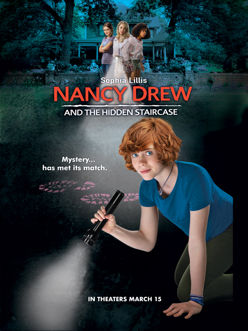 Enter To Win A Nancy Drew Swag Bag for The New Nancy Drew Movie